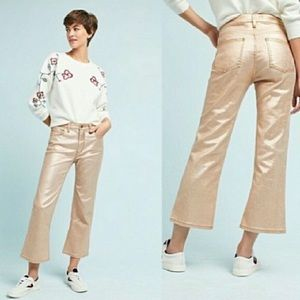 Pilcro and the Letterpress High Rise Flare Pants